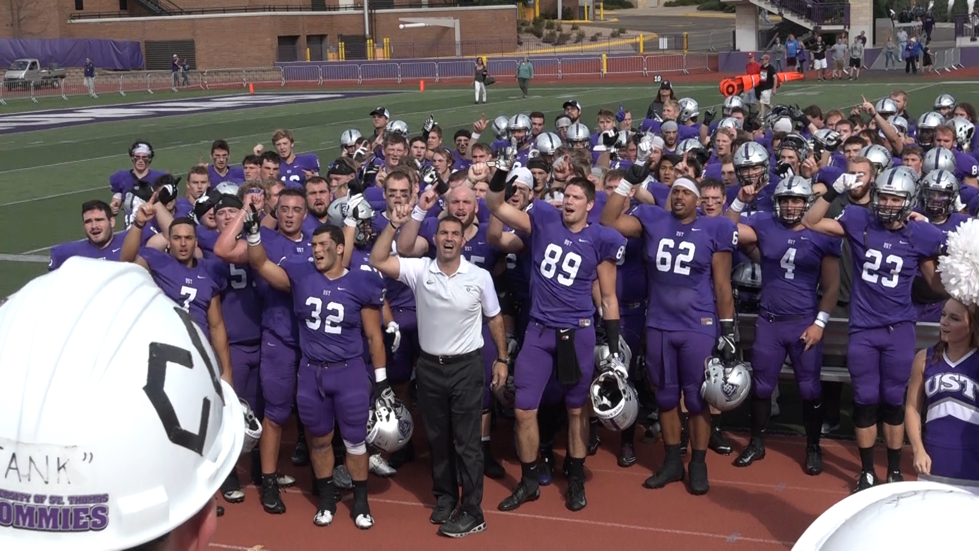 Pride and passion fuel Tommies' undefeated record
