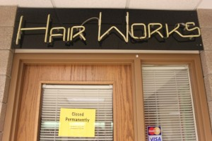Hairworks, located in Murray-Herrick Campus Center, permanently closed Wednesday Oct. 28 after failing to agree to pay for manicure and pedicure equipment in the new Anderson Student Center salon. (Cynthia Johnson/TommieMedia)