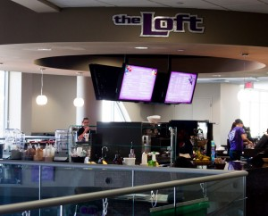 <p>The Loft is located on the third floor of the Anderson Student Center.  Gayle Lamb, manager of cash operations for Dining Services, said she thinks the addition will help get students to buy. (Kayla Bengtson/TommieMedia).</p>