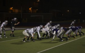 <p>Quarterback Matt O'Connell and the young first-team Tommie offense prepare for St. Norbert against the scout team Tuesday. O'Connell is 9-0 as a starter. (Ross Schreck/TommieMedia)</p>