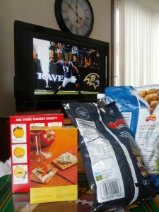<p>Food plays a big role in whether or not people have a good time at a Super Bowl party. The Baltimore Ravens and San Francisco 49ers will battle it out Sunday for the NFL championship. (Jesse Krull/TommieMedia)</p>