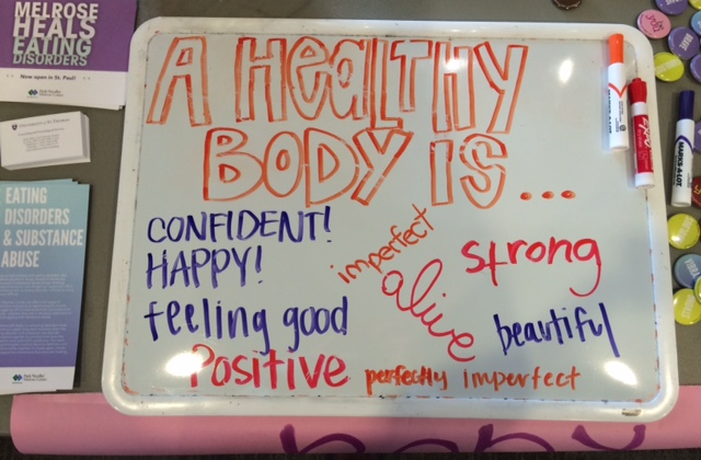 Wellness Center promotes self-empowerment during Body Image Awareness Week