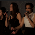 Cadenza, the all-female a cappella group on campus, opens for the Summit Singers concert Friday night. Cadenza held its first concert May 15. (Elena Neuzi/TommieMedia
