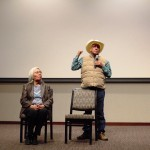Jim and Alberta Miller discuss the importance of their film Dakota 38 and the journey towards reconciliation. All the while, the two took turns speaking their minds. (Danielle Wong/TommieMedia)