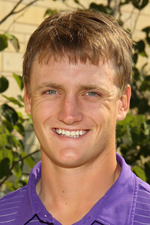 Alex Kapraun shot +4 leading the St. Thomas men's golf team in the opening round at the NCAA tournament. (Photo courtesy of Tommie Sports)