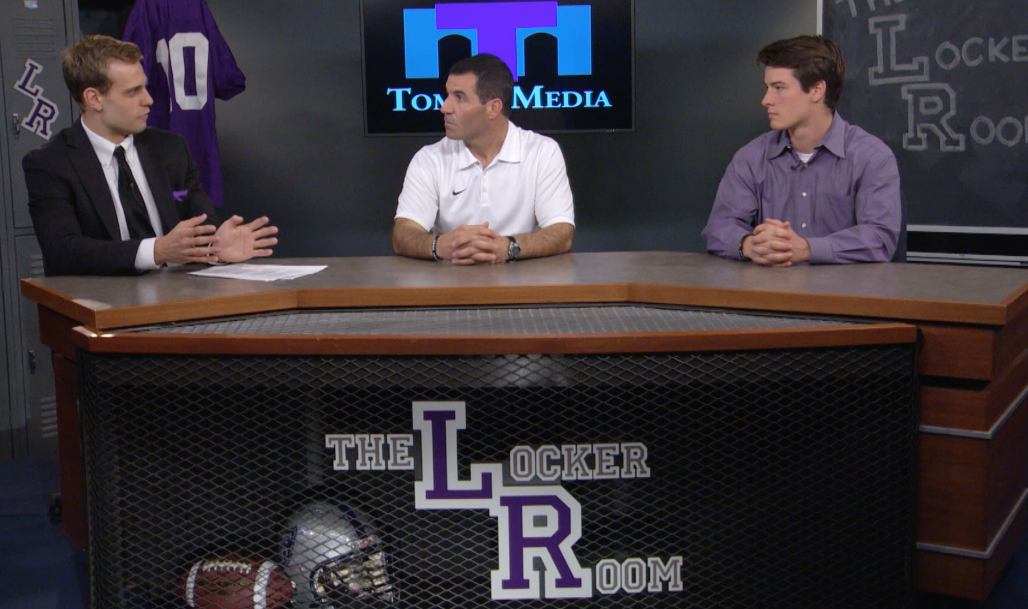 The Locker Room with St. Thomas football - May 5, 2016