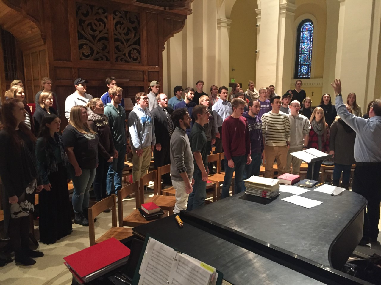 Liturgical Choir to sing in Pope's midnight Mass