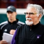 Coach Terry Peck will coach his 800th match this season.  (Courtesy of Tommie Sports)