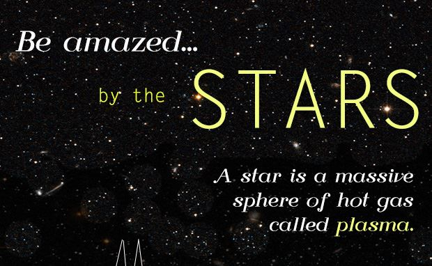 Be amazed by the stars