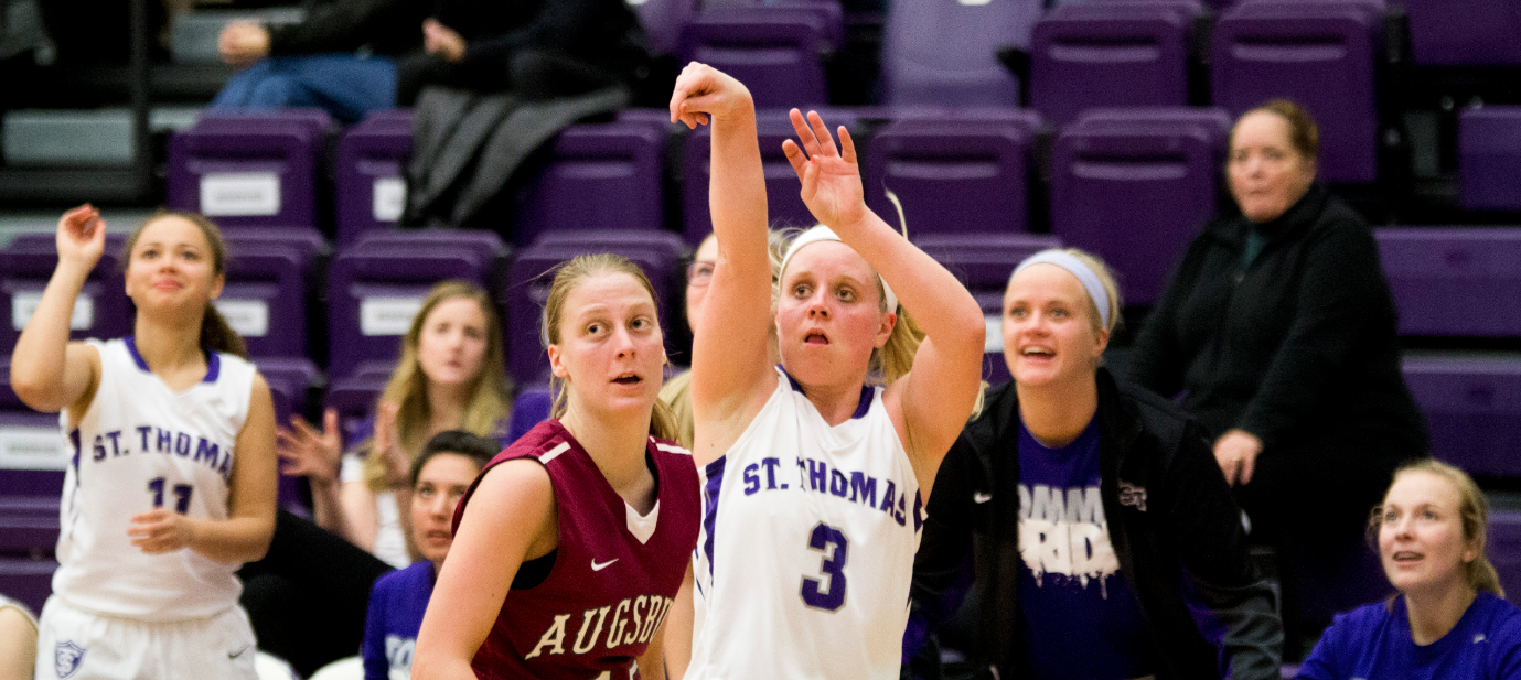 Tommies down Auggies in MIAC season opener