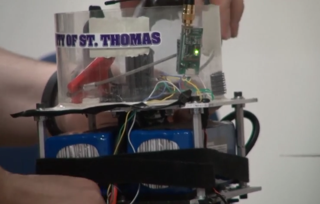 St. Thomas drone soars to success