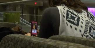 Couples use technology to maintain long-distance relationships