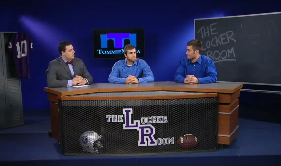 The Locker Room with John Gould and Sean Hamlin - Nov. 20, 2014