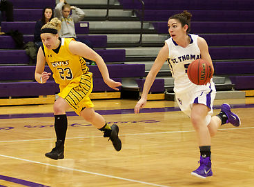 Weiers, strong defense leads St. Thomas over Buena Vista