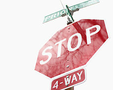 Stop signs more than traffic signals