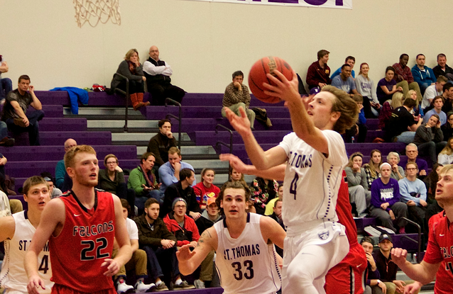 Tommies edge Falcons in late second-half thriller