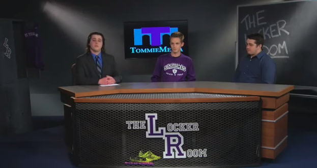 The Locker Room with men's track and field - March 13, 2015