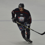 Broberg plays for his junior league team in Sweden in 2012. Broberg's team won the national championship that year. (Photo courtesy of Joakim Broberg)