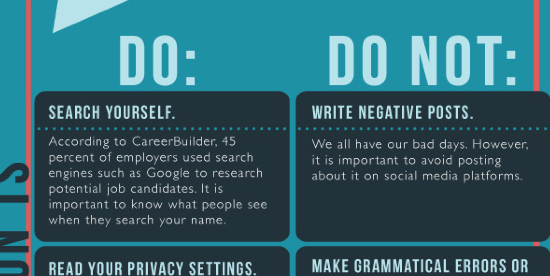 Social media etiquette for college students