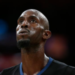 Minnesota Timberwolves' Kevin Garnett reacts to a technical foul call on him during the first half of an NBA basketball game against the Los Angeles Lakers, Wednesday, Oct. 28, 2015, in Los Angeles. (AP Photo/Jae C. Hong)