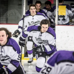 The St. Thomas men's hockey team begins its season without three program staples. The team will face Wisconsin-River Falls and Wisconsin-Superior this weekend. (Jake Remes/TommieMedia)