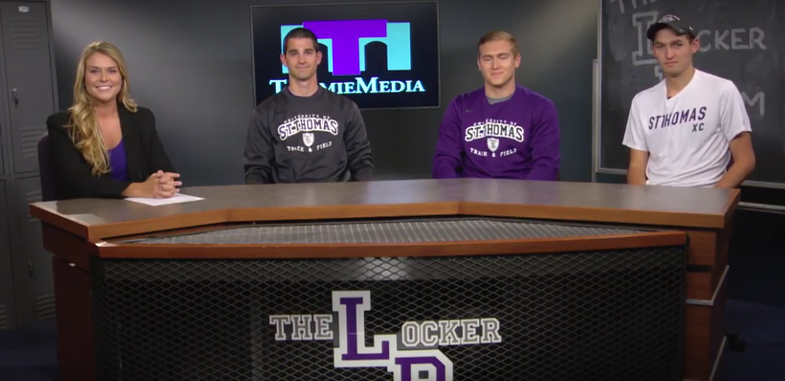 The Locker Room with men's track - April 28, 2016