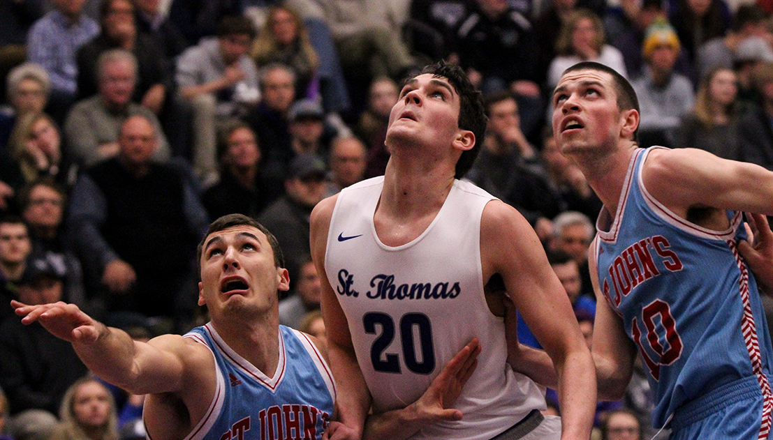 Tommies beat Johnnies for 16th straight win and share of MIAC title