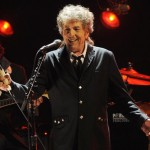 In this Jan. 12, 2012, file photo, Bob Dylan performs in Los Angeles. Dylan was named the winner of the 2016 Nobel Prize in literature Thursday, Oct. 13, 2016, in a stunning announcement that for the first time bestowed the prestigious award to someone primarily seen as a musician. (AP Photo/Chris Pizzello, File)