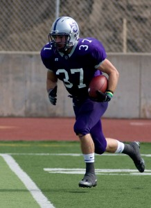 <p>Caruso said the Tommies will look to establish the running game early against the undefeated Oles. (Josh Kleven/TommieMedia)</p>