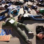 "<p>SLIDESHOW: Photographer Marc Lane caught all the ""die-in"" moments. (Marc Lane/TommieMedia)</p>"