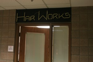 <p>The new Anderson Student Center hair salon, replacing Hairworks, the former barbershop in Murray-Herrick Campus Center, was set to have its grand opening on Jan. 17 but has been postponed because of a state-licensing requirement. (Baihly Warfield/TommieMedia)</p>