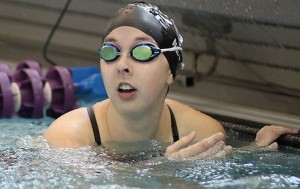 <p>Becca Ney is headed to nationals for the third year in a row. (Miles Trump/TommieMedia)</p>