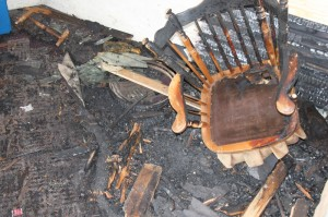 A recent house fire at a student rental property was the second one in less than a year caused by cigarettes. (Briggs LeSavage/TommieMedia)