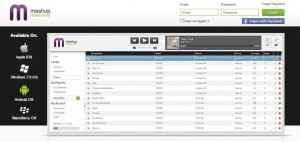 <p>Mashup Media Inc. is a cloud service that will eventually offer its users unlimited storage for owned music, a profile to display taste preferences and an online store to purchase songs. The service was launched in January. (Courtesy of Emilee Sirek)</p>