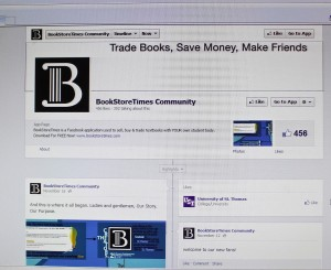 "<p>The BookStoreTimes Facebook community page has 503 ""likes."" The number of likes has increased since Nov. 11, when it had 15. (Bjorn Saterbak/TommieMedia)</p>"