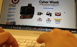 <p>Target.com introduced Cyber Week in addition to Cyber Monday. Online sales saw a huge leap, including a 17 percent jump in Internet purchases on Thanksgiving Day. (Briggs Lesavage/TommieMedia)</p>