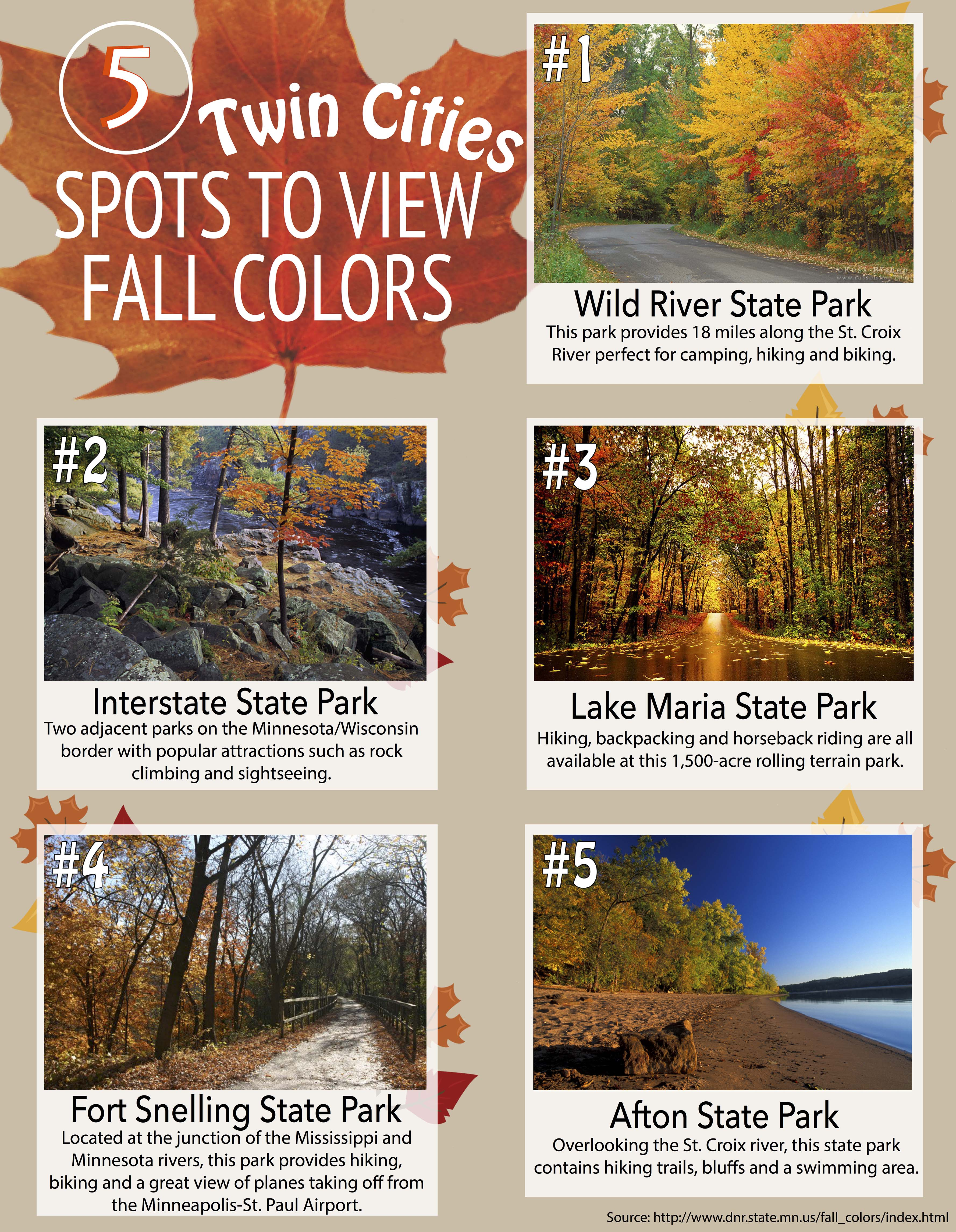 Five Twin Cities State Parks Offer Best Fall Colors Tommiemedia