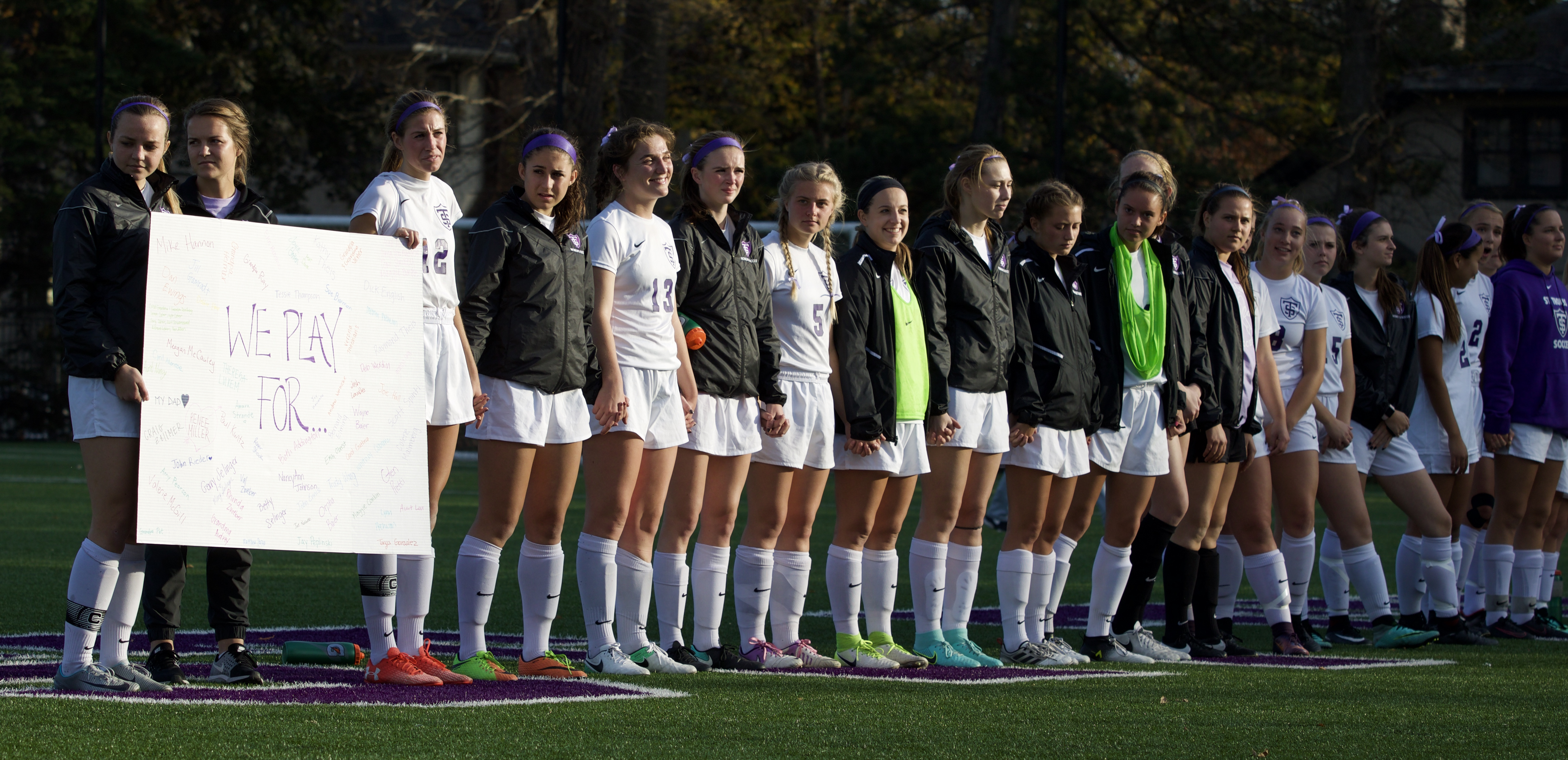 Womens Soccer Ties Honors Hall Of Famer With Cancer