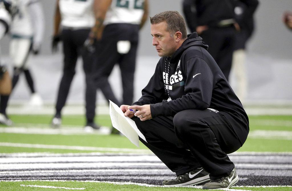 Vikings to hire Eagles QB coach John DeFilippo as offensive coordinator