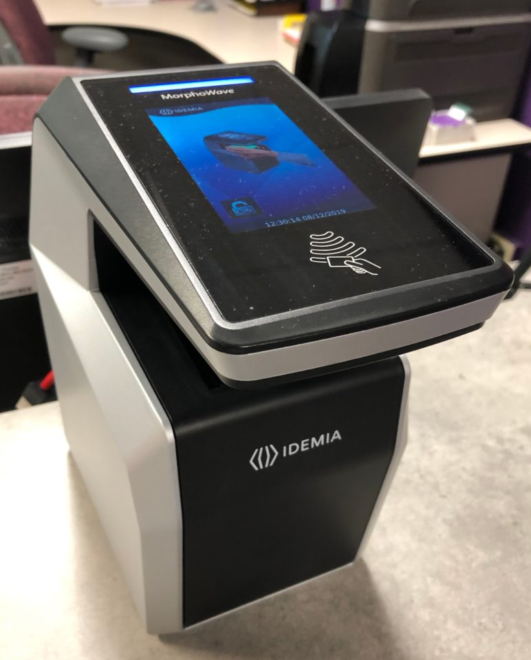 Hand scanners to replace student IDs at residential dining