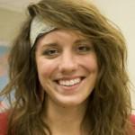 <p>Senior Amanda Leaveck</p>