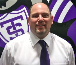 Forest Lake High School head coach Brian Raabe. (Theresa Malloy/TommieMedia)