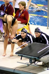 There should be plenty to cheer about this weekend for the swim team. (Gina Dolski/TommieMedia)