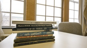 Aquinas, St. Thomas' yearbook that started in , will start distributing electronic copies this fall. (John Kruger/TommieMedia)