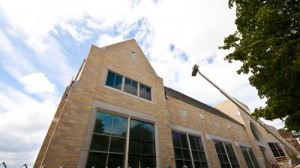 The Anderson Athletic and Recreation Complex is set to open in August. (John Kruger/TommieMedia)