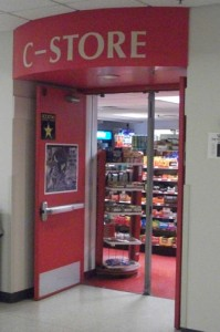 The C-Store is located in the lower level of Murray-Herrick Campus Center. (Miles Trump/TommieMedia)