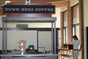 <p>Rockey Grounds will be replaced by a university-run coffee cart that will feature an expanded menu. (Katie Broadwell/TomieMedia)</p>