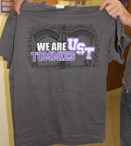 <p>STAR is handing out 600 Tommie T-shirts at tonight's volleyball game.</p>