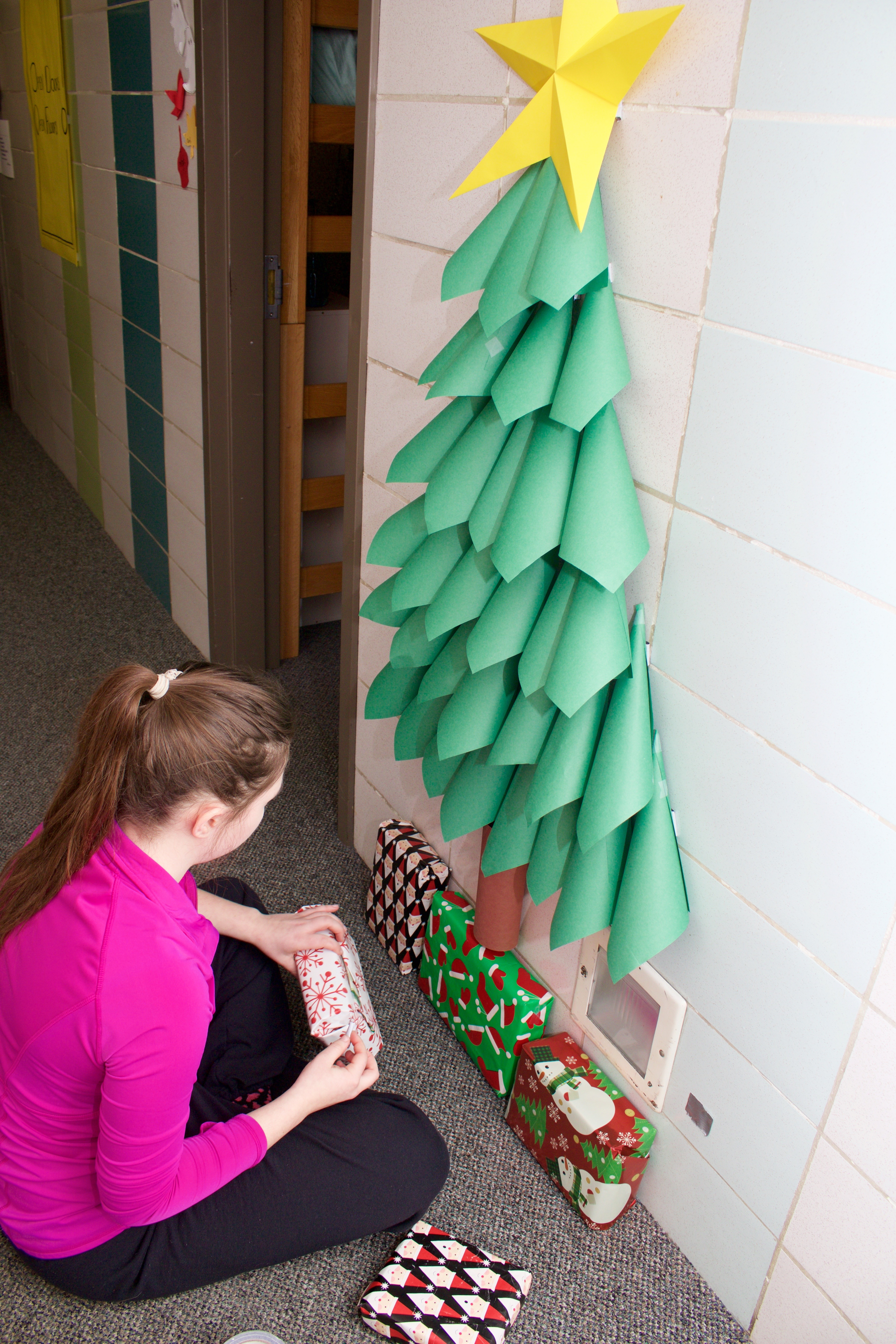 Deck The Dowling Hall Students Decorate For Christmas