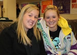 <p>Rachel Hartman and Lexi Marthaler (Maggie Clemensen/TommieMedia)</p>